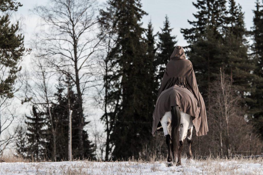 Pelon tunne ja pelosta puhuminen hevosmaailmassa